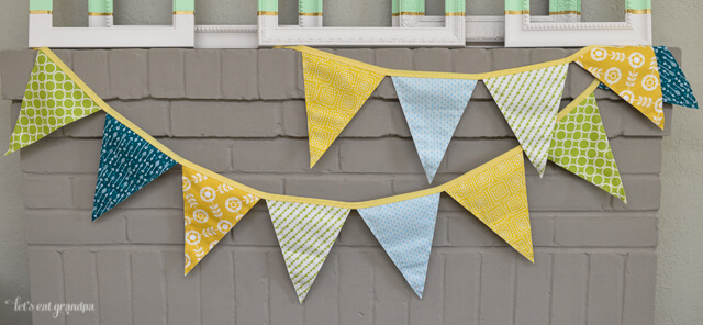 New Baby Pennants by Let's Eat Grandpa