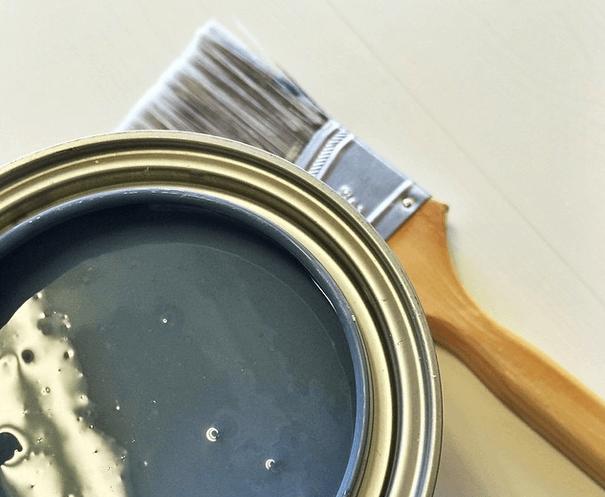"""bucket of Martha Stewart """"Mariner"""" Paint (discontinued)"""