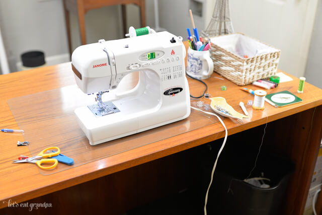 Sewing Room Clean Up by @letseatgrandpa