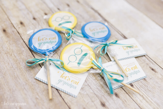 Lollipics as business cards + a giveaway!