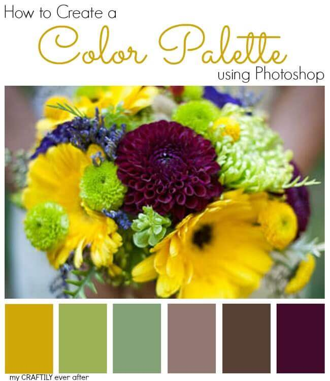 photoshop how to create a color palette