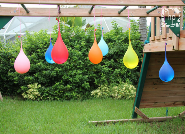 Water Balloon Pinata by Scrappy Heather
