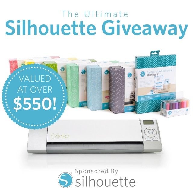 Win a Silhouette CAMEO and eight starter kits!