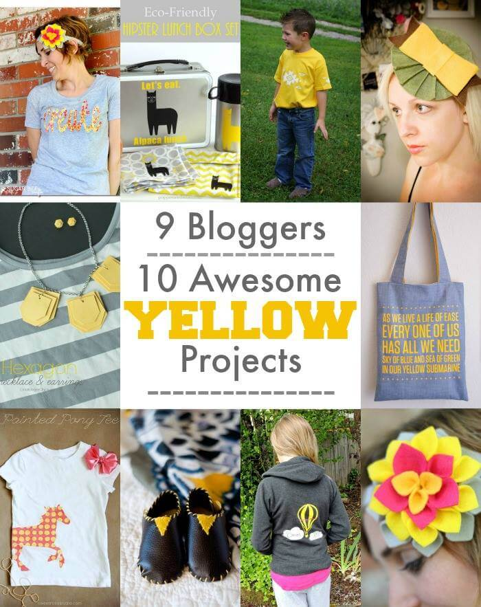 9 Bloggers, 10 Awesome Yellow Projects