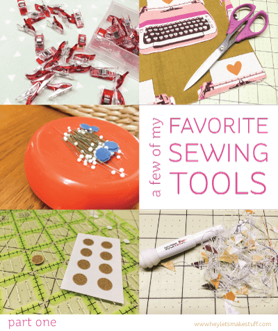 With so many sewing tools on the market, which are the best? Here are five of my favorites that I use all the time.
