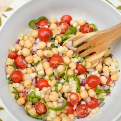 Summer Salad with Shishito Peppers