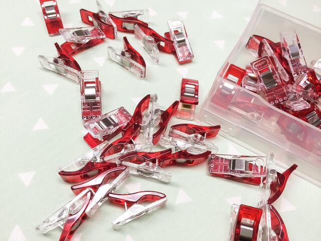 pack of wonder clips - favorite sewing tools