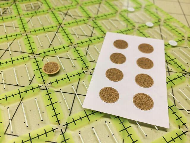 sandpaper dots - favorite sewing tools