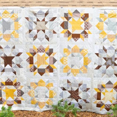 Scrappy Swoon Quilt Top Finish!