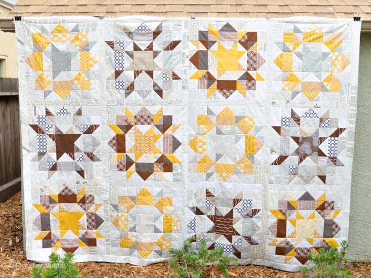Scrappy Swoon Quilt - Top Finish