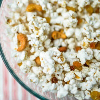 Garam Masala Popcorn Mix