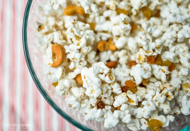 This garam masala popcorn is the perfect complement to a Bollywood film!