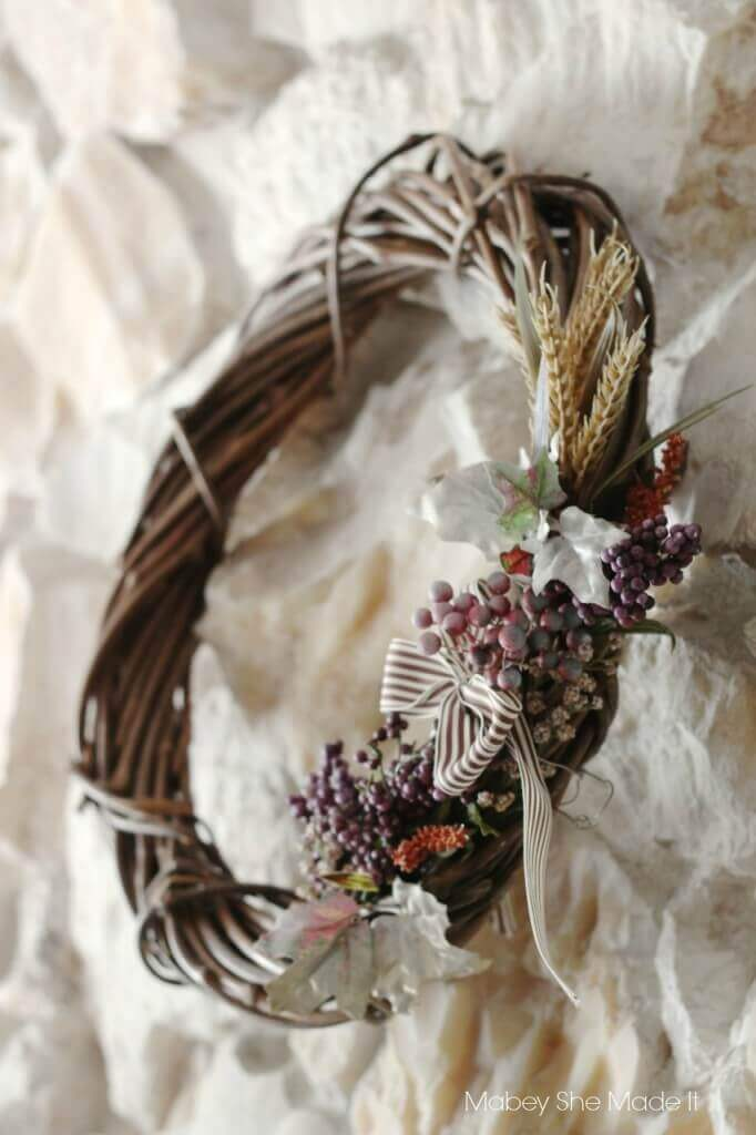Fall Wreath from @mabeyshemadeit for @letseatgrandpa