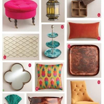 15 Fall Picks from World Market for our New Home