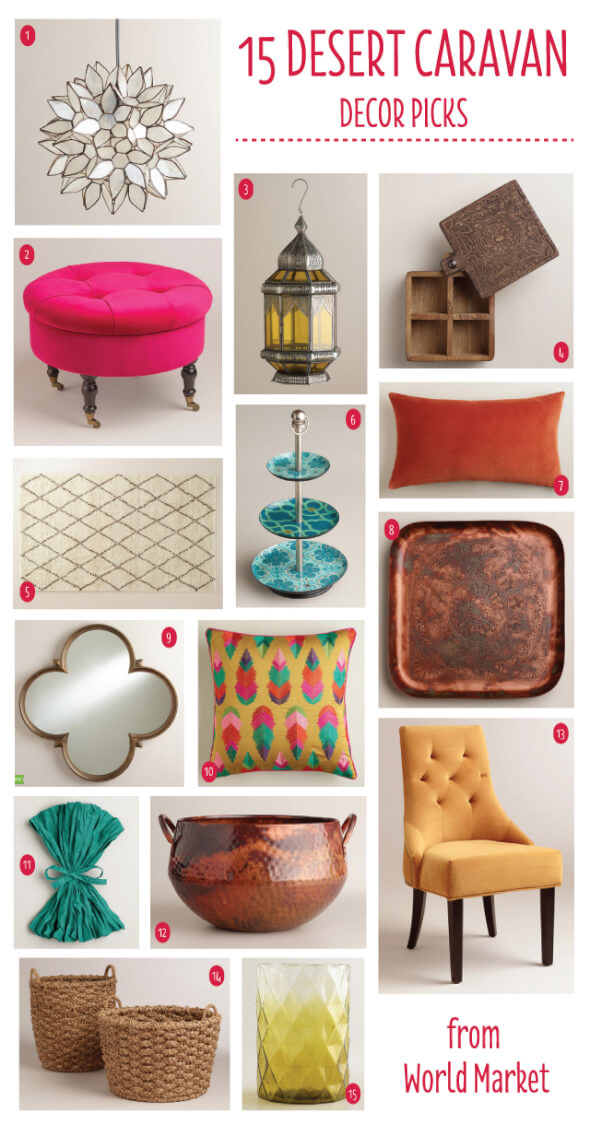 World Market Desert Caravan Picks for Fall #SpruceUpYourSpace @worldmarket @letseatgrandpa