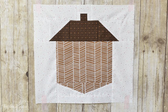 Easy Acorn Quilt Block from @letseatgrandpa