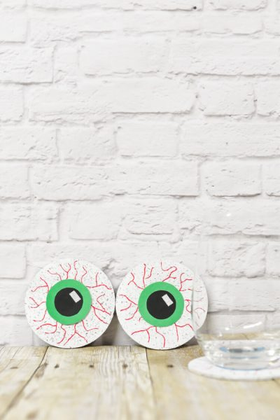 Creepy Eyeball Coasters