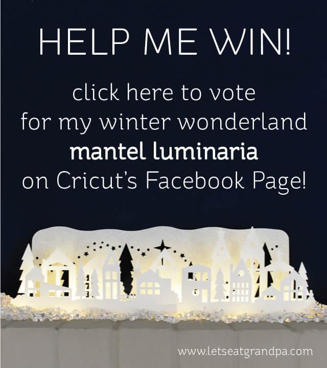 Help me win the Cricut Design Space Star Challenge!