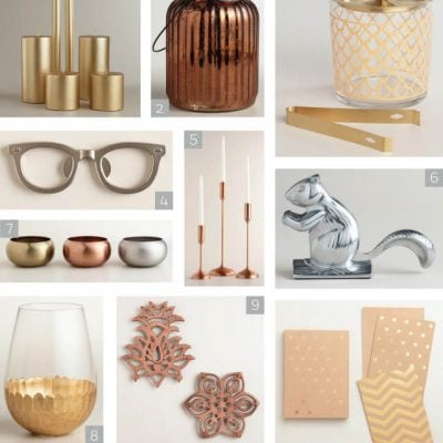 Share the Joy: Metallic Gifts Any Hostess Would Love to Receive