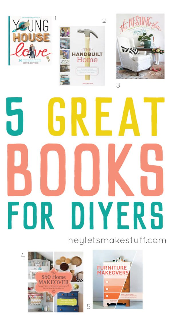 This Book Gift Guide has every creative person on your list covered: books for cooks, books for sewists, books for bloggers, books for crafters, books for DIYers, and books for handmade sellers.
