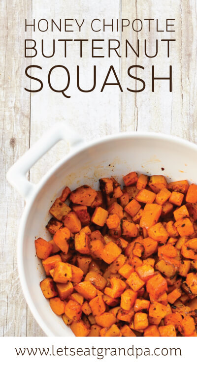 ... chipotle butternut squash is the perfect addition to your holiday menu
