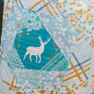 Bloomin' Quilt-As-You-Go Tote Bag + Giveaway!