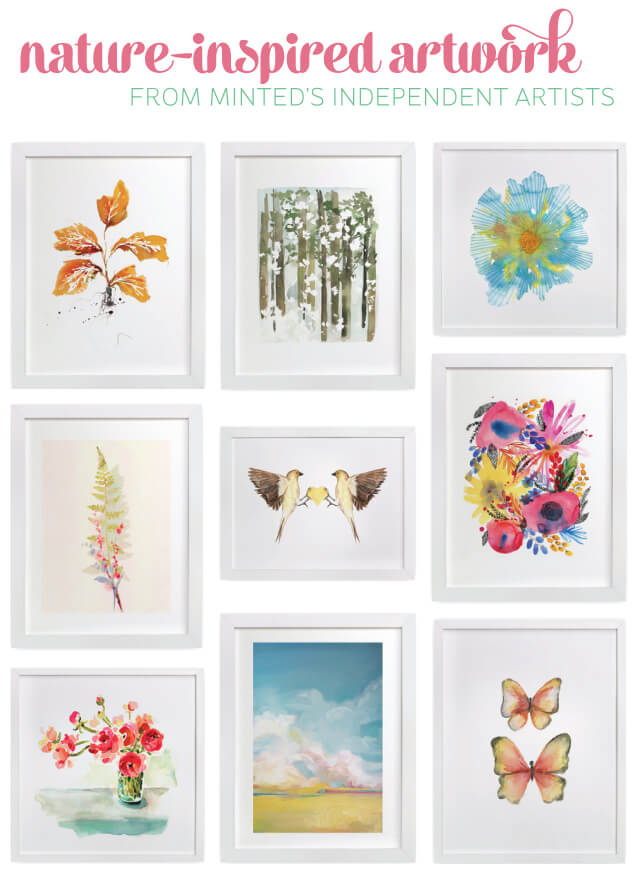 @Minted has so many awesome nature-inspired prints -- all limited edition! Support small artists.