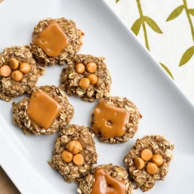 Two Ingredient Cookies: Caramel and Butterscotch Mix-Ins