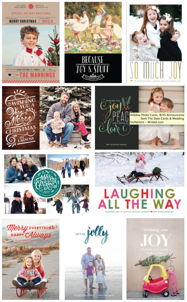 So many great Christmas cards from @Minted!