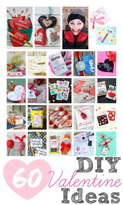 60 DIY Valentine Ideas from your favorite bloggers!