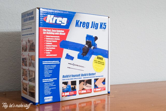 Box of Kreg Pocket Hole Jig