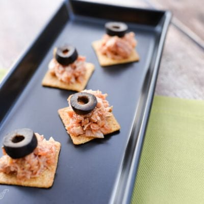 Healthy Salsa Tuna Bites
