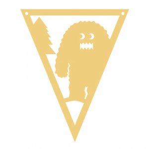 Woodland Bigfoot Pennant