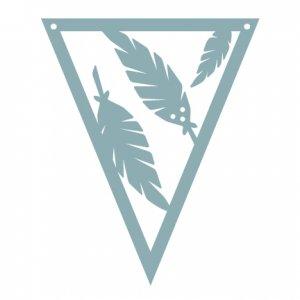 Woodland Feathers Pennant