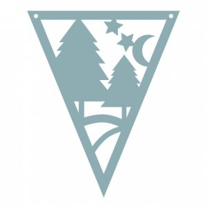 SVG Forest Pennant