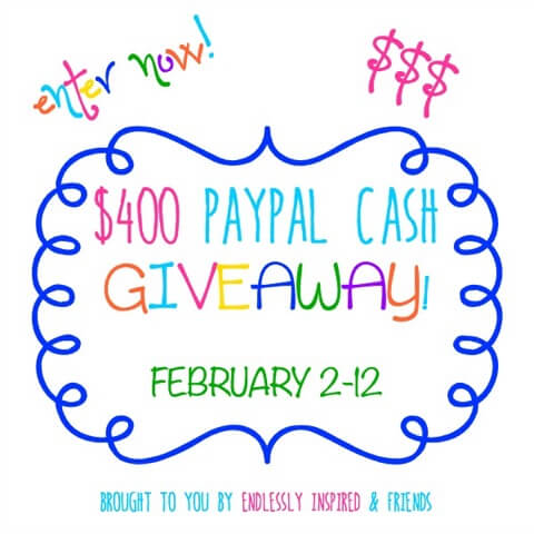 $400 Paypal Cash Giveaway