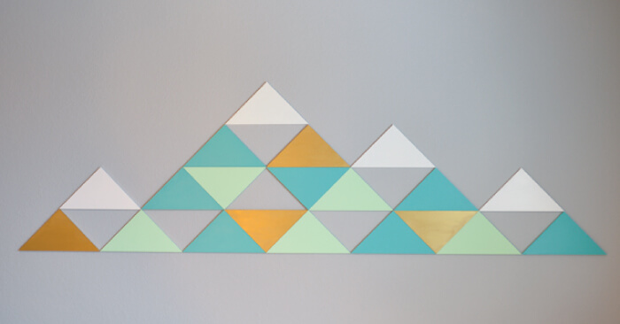 Geometric Mountain Design