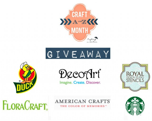 Win a bunch of crafting supplies!