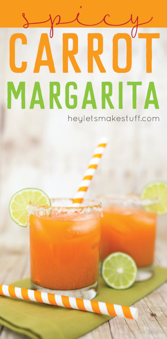 A carrot margarita? Yes! Take a plain jane margarita and spice it up -- this zesty carrot margarita has a ton of personality and is perfect for Cinco de Mayo and other fun parties.