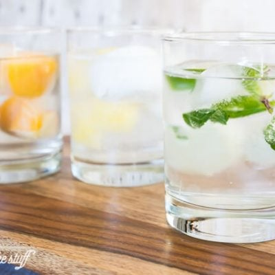 Infuse Your Water with Faux Cocktail Ice Cubes