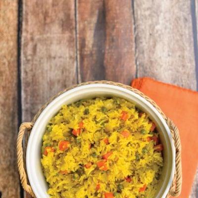 Sabzi Pilau – Indian Spiced Rice