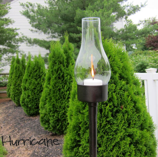 DIY Hurricane Lamp