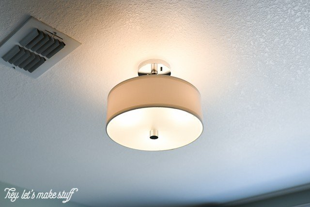 How to light a nursery for Nursery ceiling light fixture