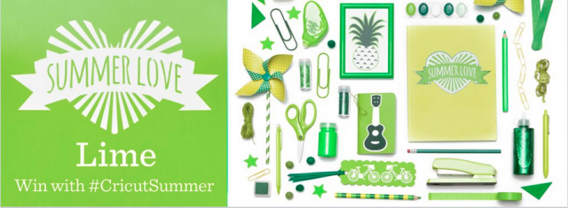 Cricut Lime Week #CricutSummer