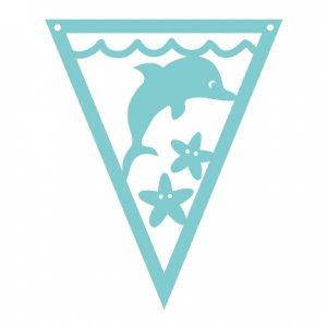 Under the Sea Pennants Dolphin