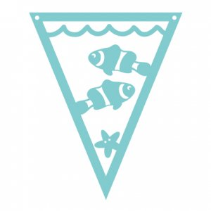 Under the Sea Pennants Fish