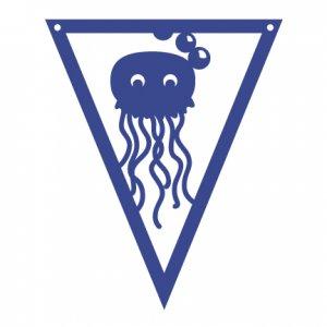 Under the Sea Pennants Jellyfish