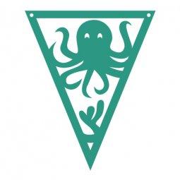 Under the Sea Pennants Octopus
