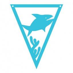 Under the Sea Pennants Shark