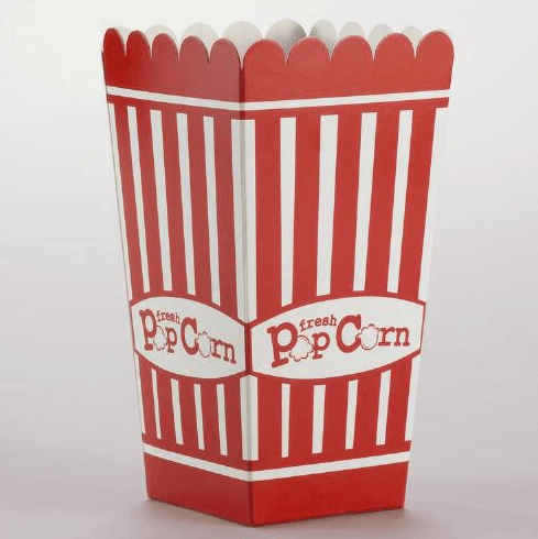 popcorn paper box